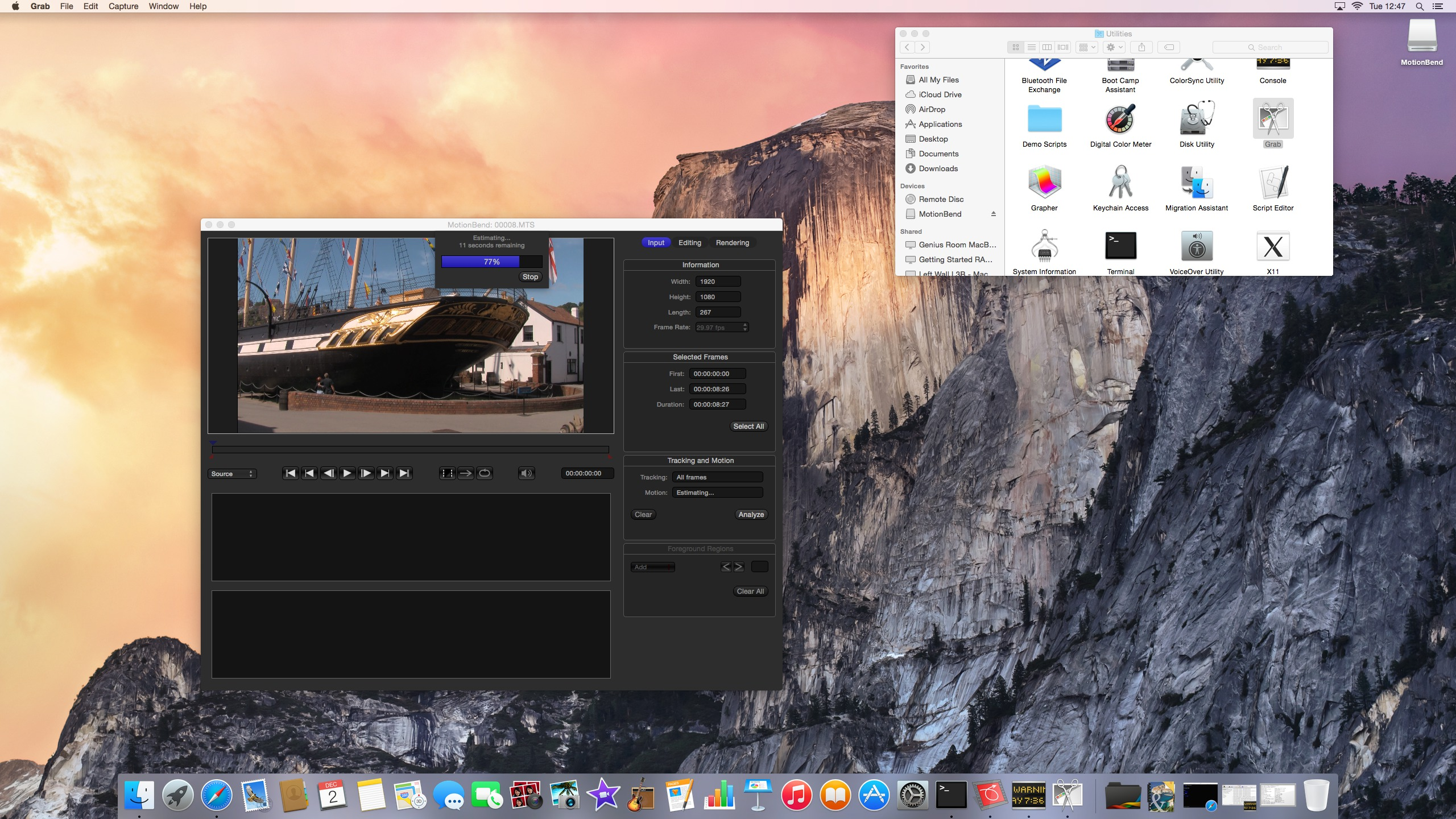 Yosemite Screenshot